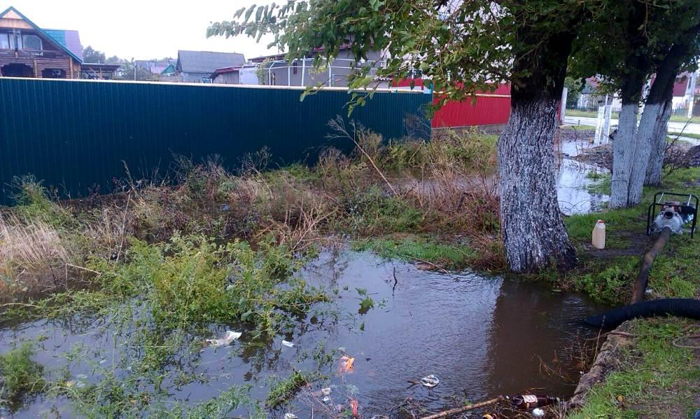 Ренийский р-н: в Новосельском из частных домов уже откачали 8 тыс. куб. м. воды (фото)