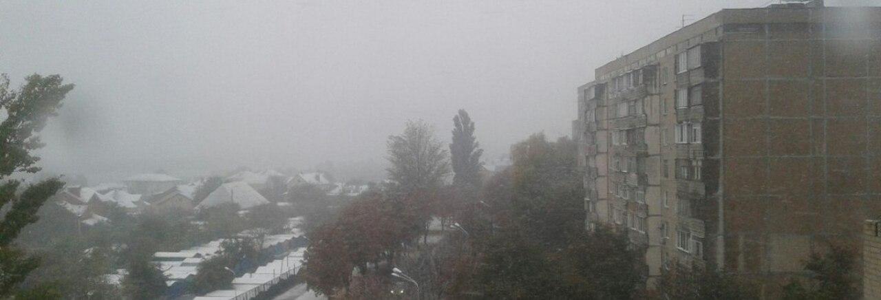 oXo_yL5_T0U На севере Одесской области выпал снег (фотофакт)