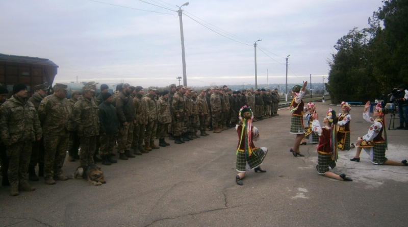 В Сарату из зоны АТО вернулись военнослужащие 18-го отдельного мотопехотного батальона