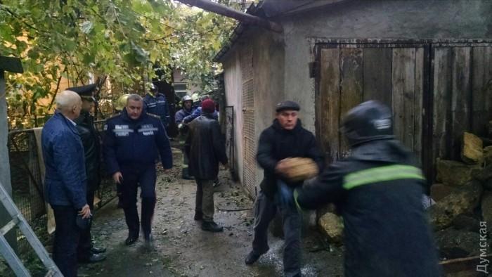 На одесской Молдаванке обрушился дом: погиб еще один человек