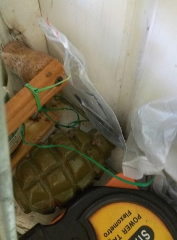 В доме жителя Вилково на острове Анкудинов обнаружили боевую гранату (ФОТО)