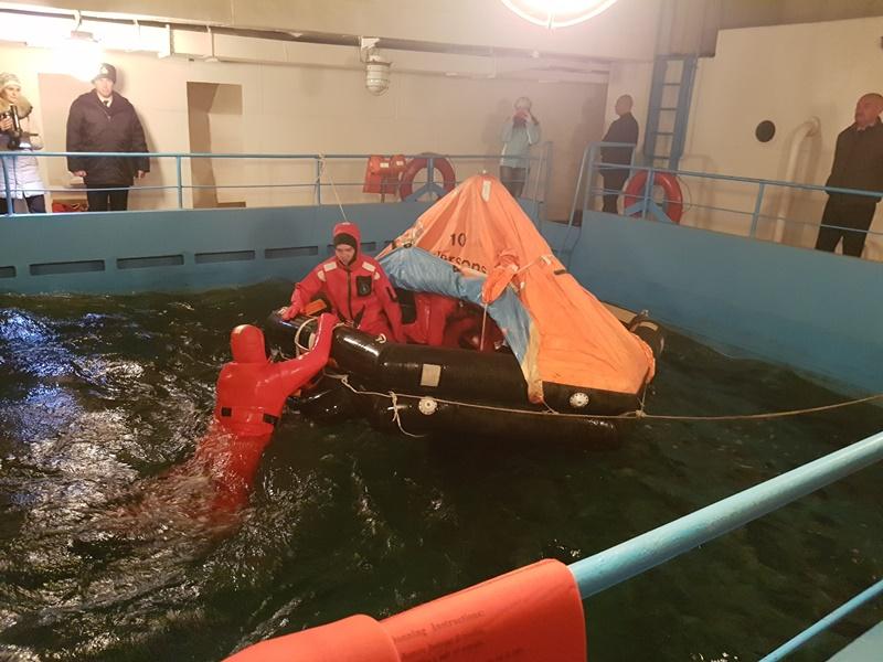 В Измаиле прошли совместные учения украинских и румынских моряков-пограничников (ФОТО)