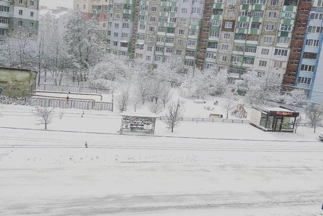 24218483 Захурделило: в Украину пришла зима