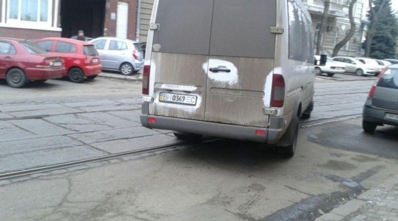 Водитель маршрутки из Болграда отличился в Одессе (фото)