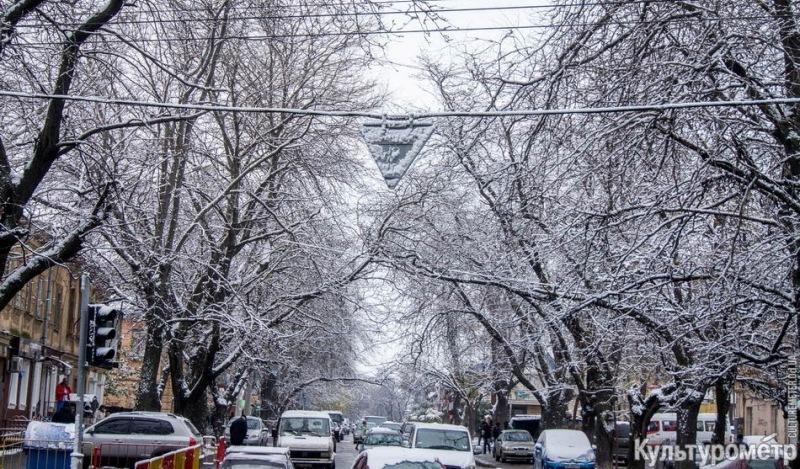 Зима уже на пороге Бессарабии (фото)