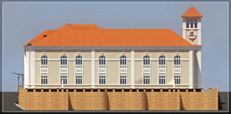 """IMG_1202 Минус одно """"мертвое"""" здание в Измаиле: бывшее управление пароходства станет гостиницей (ФОТО)"""