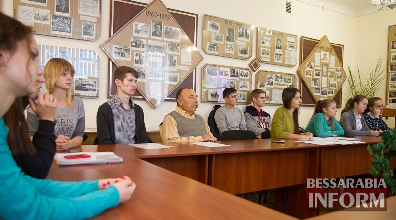 Годовщина Евромайдана в Измаиле: студенческая молодежь - о формировании гражданского сознания (ФОТО)