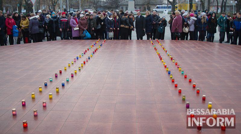 Измаил почтил память жертв Голодомора (ФОТО)