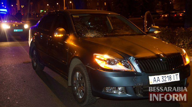 В Измаиле бывший начальник милиции сбил на пешеходном переходе женщину (фото)