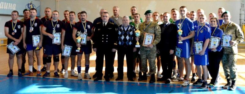news_20161031_115912_1477907952 В чемпионате по волейболу команда Измаильского погранотряда заняла второе место (ФОТО)