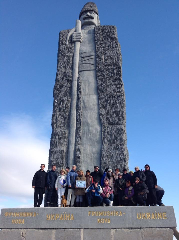 Памятник в Тарутинском районе попал в Книгу рекордов Украины (фото)