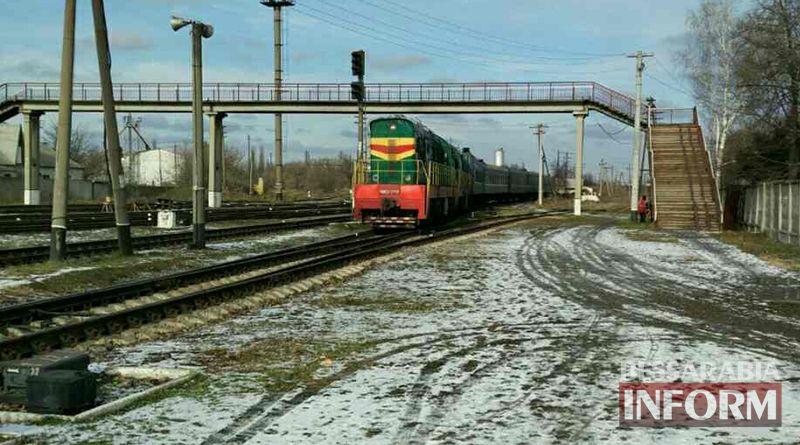 Десятки пассажиров киевского поезда застряли на три часа на подъезде к Измаилу