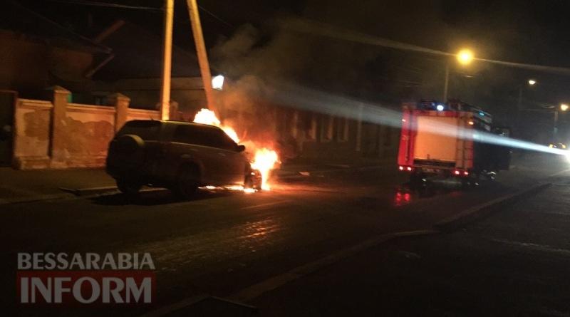 586003eaf0a2b_3674585 В Измаиле возле автостанции сгорел автомобиль (фото, видео)