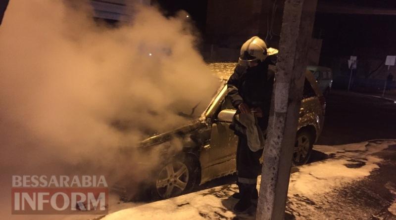 586003eb17b50_34563456 В Измаиле возле автостанции сгорел автомобиль (фото, видео)
