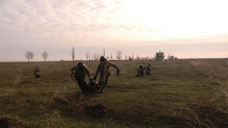 На общевойсковом полигоне «Широкий Лан» прошли учения пограничных спецназовцев из Измаила (ФОТО)
