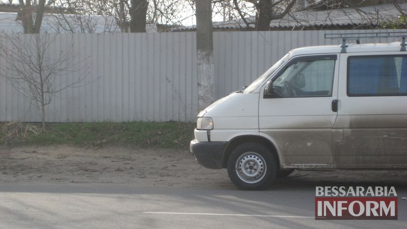 В Измаиле микроавтобус наехал на 10-летнюю школьницу (ФОТО)