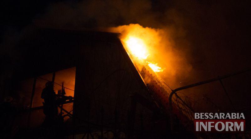 Причиной масштабного пожара в Измаиле стала неисправность печного отопления