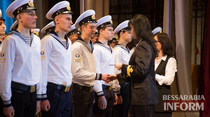 IMG_3419 Офицерский бал: в Измаиле будущих моряков посвящали в первокурсники (ФОТО)