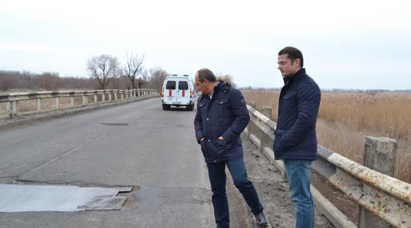 Замглавы облсовета и глава облавтодора проинспектировали качество выполненных работ на трассе Одесса-Рени
