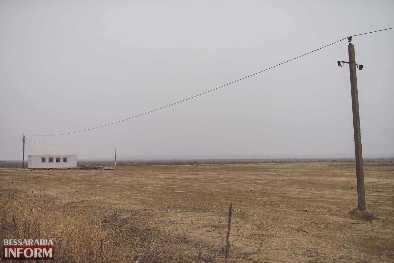 Строительство паромной переправы Орловка-Исакча: состояние на декабрь-2016 (ФОТО)