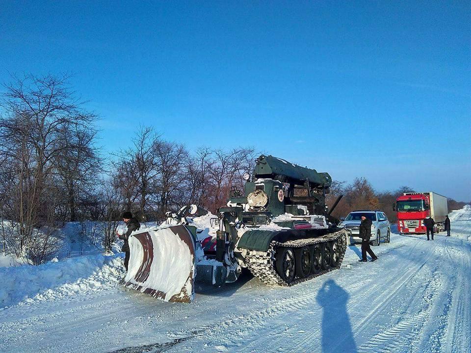 Трасса Одесса-Рени стала проезжаемой для легкового транспорта