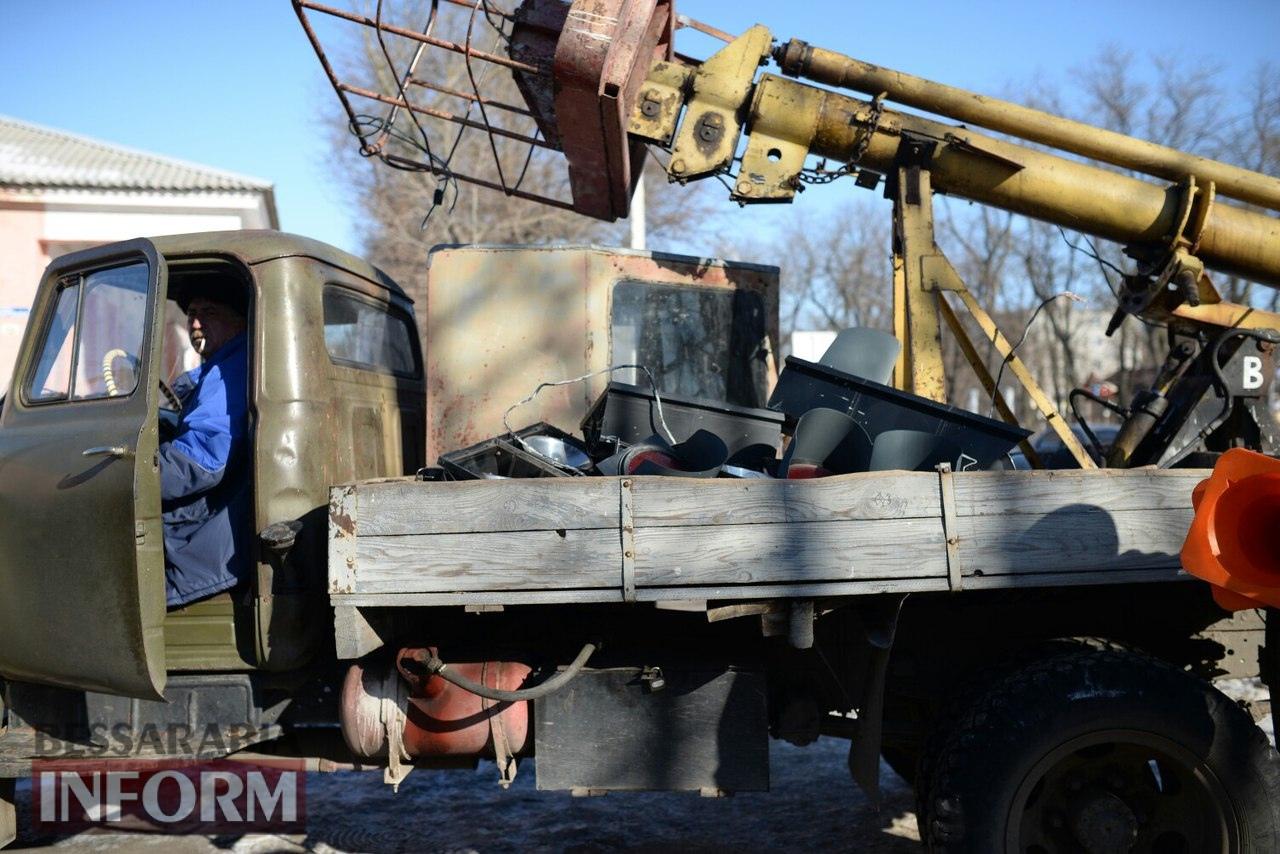 ДТП в Измаиле: на одном из самых аварийных перекрестков снесли светофор (фото)