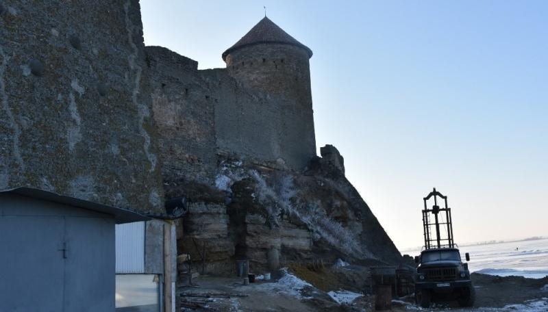 В Аккерманской крепости закончился один из этапов противоаварийных работ (ФОТО)