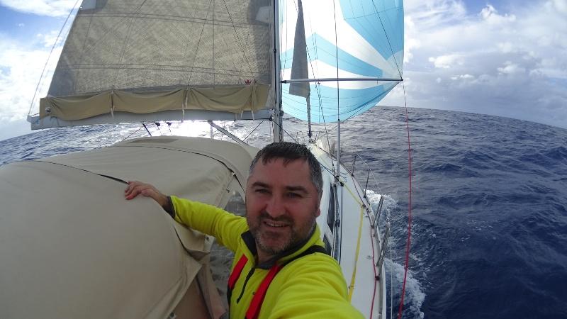 Уроженец Килийского района пересек Атлантику на яхте (фото)