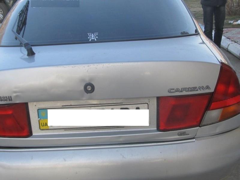 Измаильские пограничники выявили автомобиль с перебитым номером кузова (ФОТО)