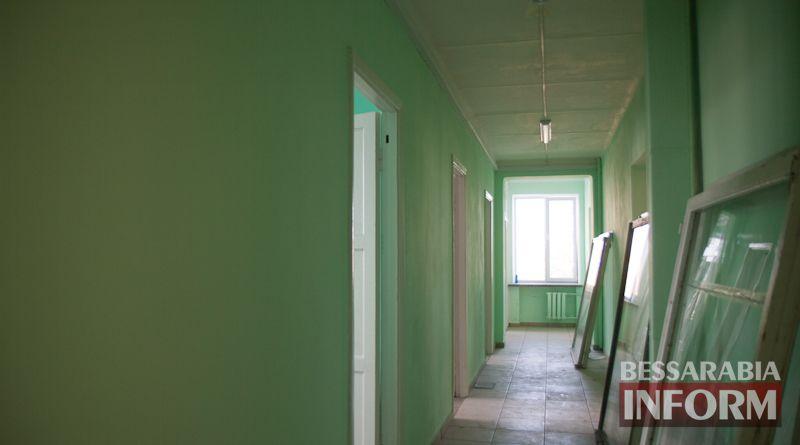 Начало большого проекта: в Измаиле отремонтировали последний этаж детской поликлиники (фото)