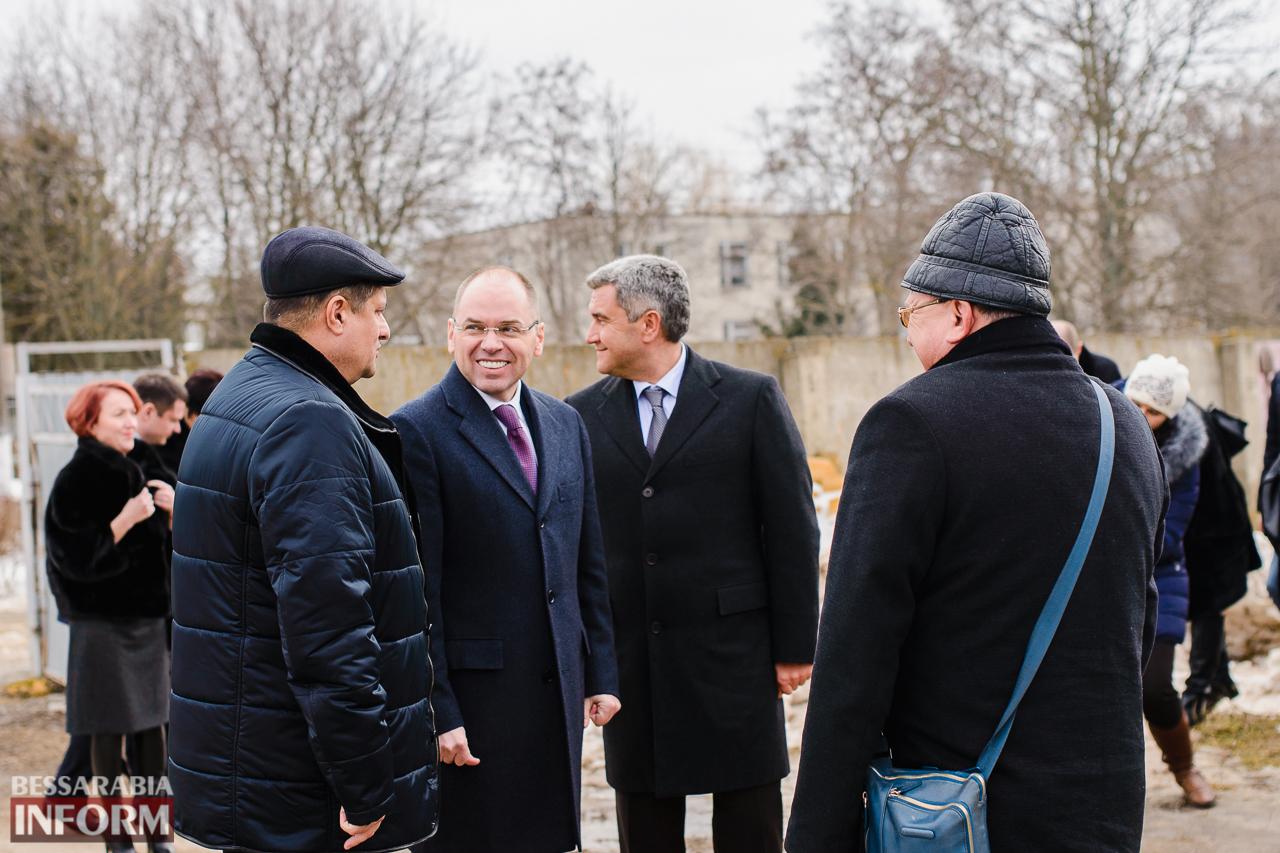 SME_3882 Новый губернатор посетил строительство Дворца спорта в Измаиле (ФОТО)