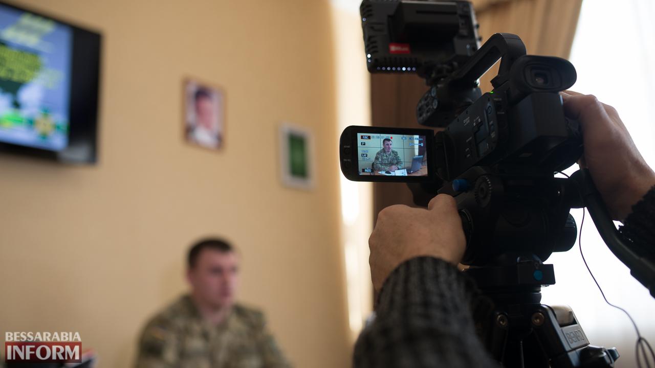 """SME_4436 """"Обстановка на участке Измаильского погранотряда динамичная, но контролируемая"""", - полковник Лесюкевич"""