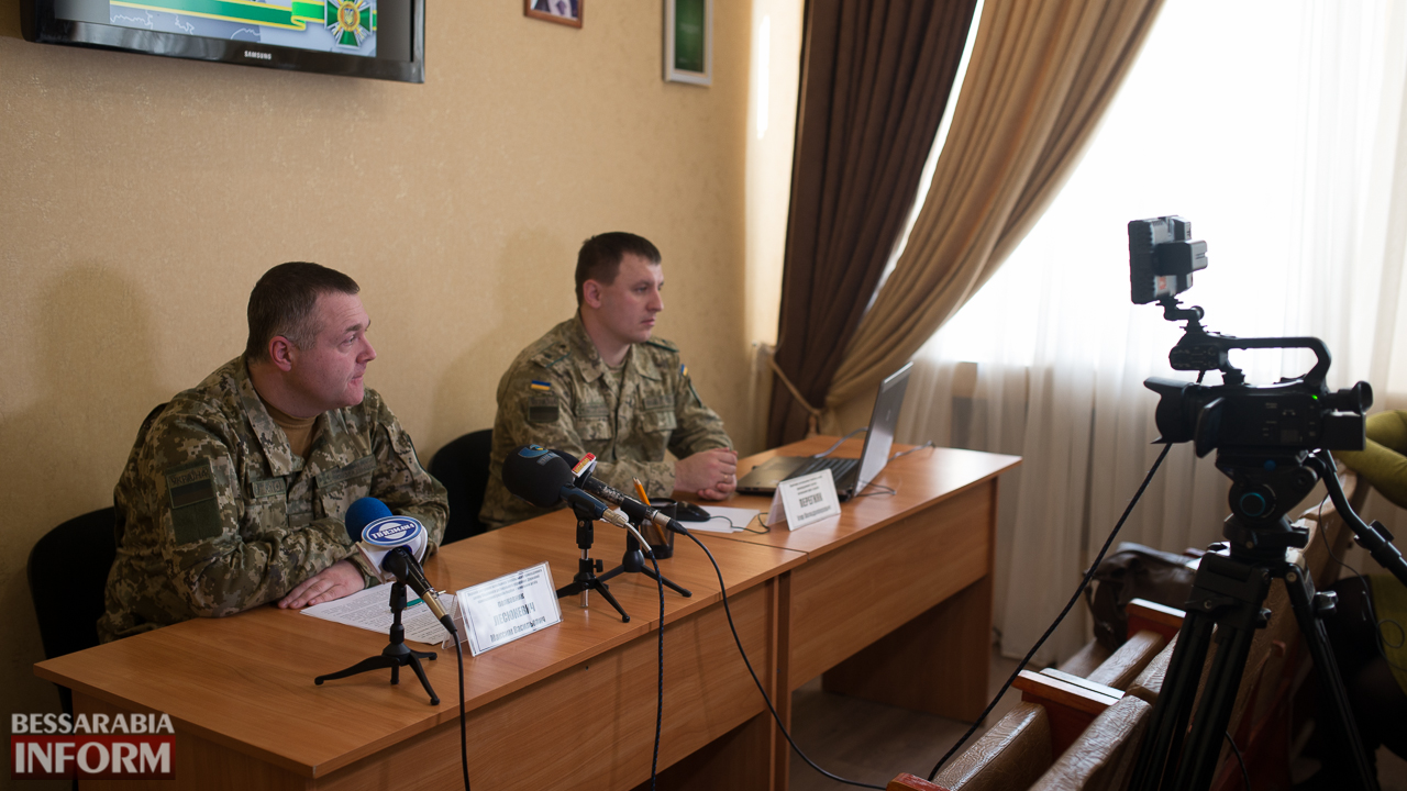 """SME_4438 """"Обстановка на участке Измаильского погранотряда динамичная, но контролируемая"""", - полковник Лесюкевич"""