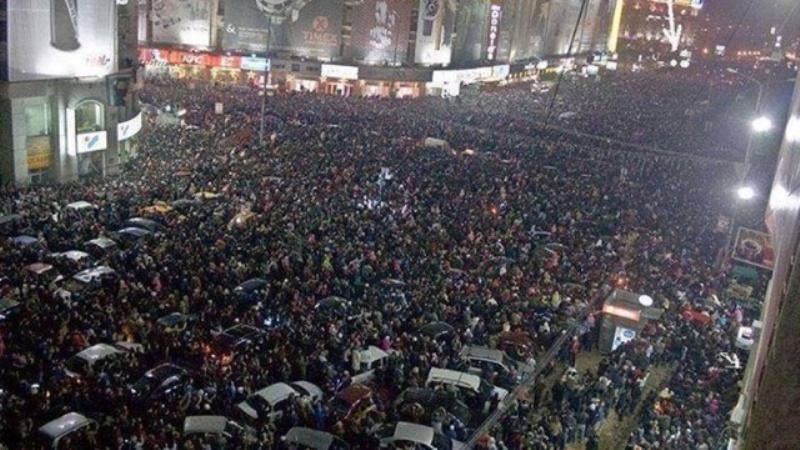 bucharest0 В Румынии десятки тысяч людей вышли на антиправительственные митинги