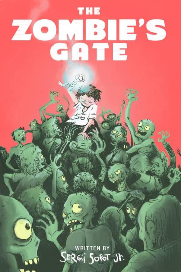 16265385_1174591215987953_3829237930883196344_n Восьмилетний мальчик из Одессы написал книгу о зомби на английском языке