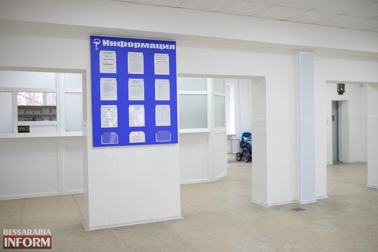 IMG_0143 Измаил: в городской поликлинике открыли холл после ремонта (ФОТО)