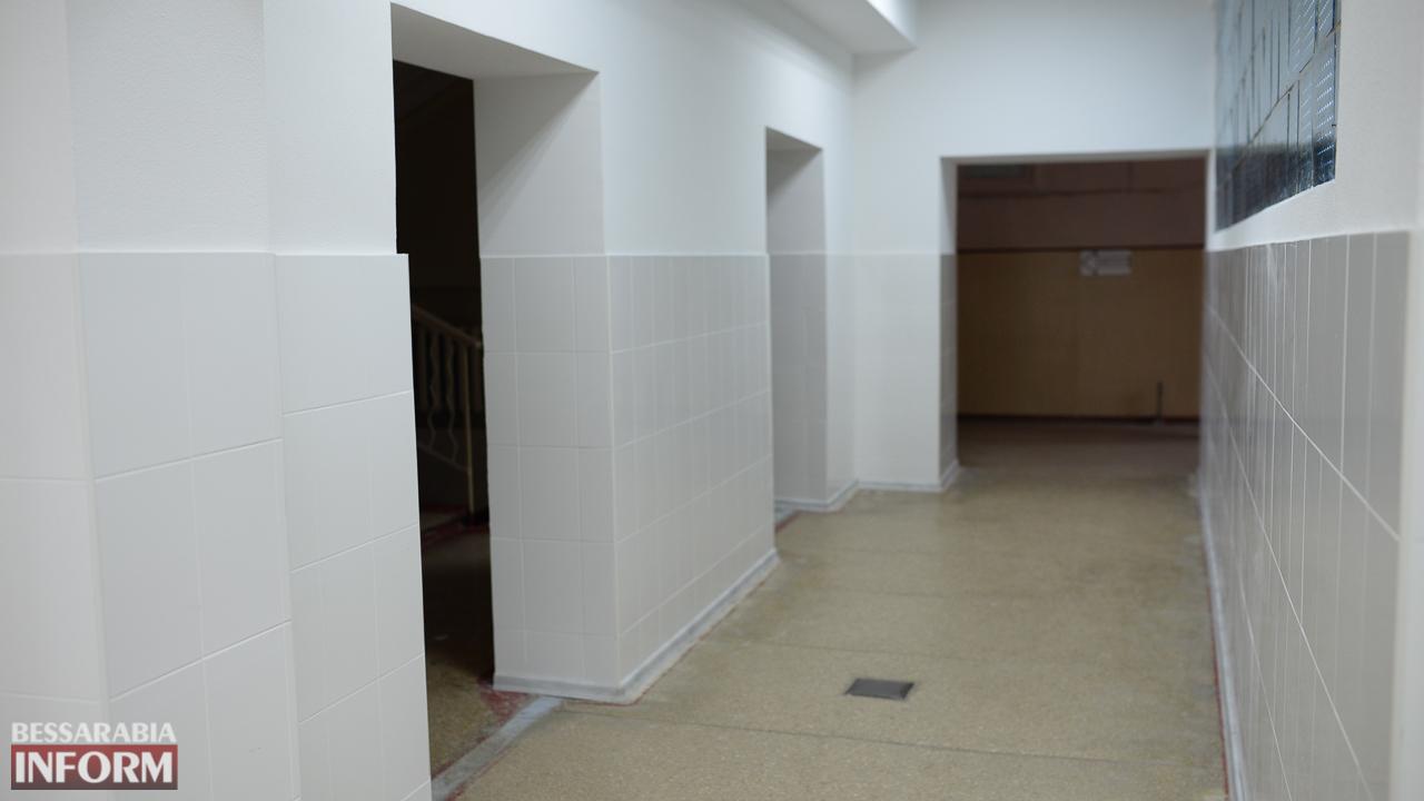 IMG_0145 Измаил: в городской поликлинике открыли холл после ремонта (ФОТО)