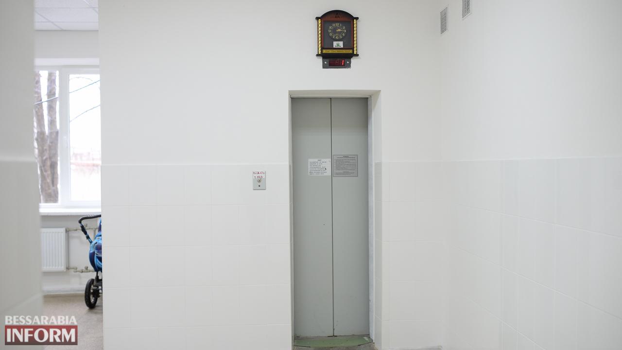 IMG_0146 Измаил: в городской поликлинике открыли холл после ремонта (ФОТО)
