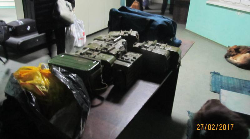 В Рени в рейсовом автобусе нашли пустые короба к пулеметной ленте