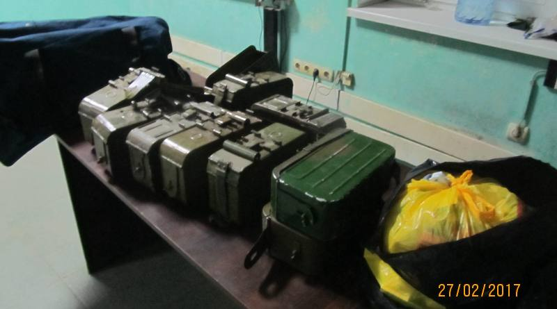 IMG_9478 В Рени в рейсовом автобусе нашли пустые короба к пулеметной ленте