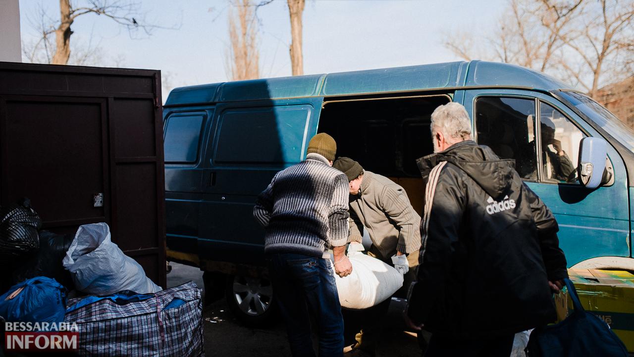 SME_4461 Сегодня из Измаила выехало две партии гуманитарного груза для жителей Авдеевки