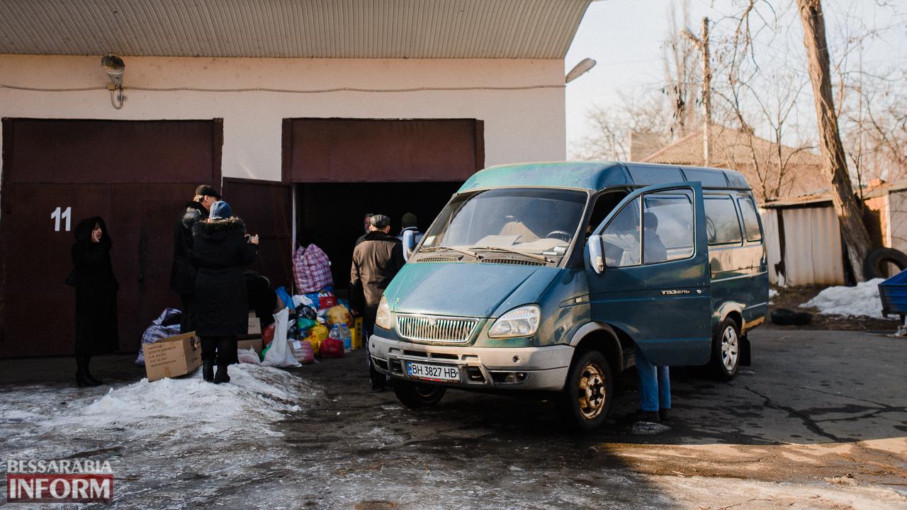 SME_4466 Сегодня из Измаила выехало две партии гуманитарного груза для жителей Авдеевки