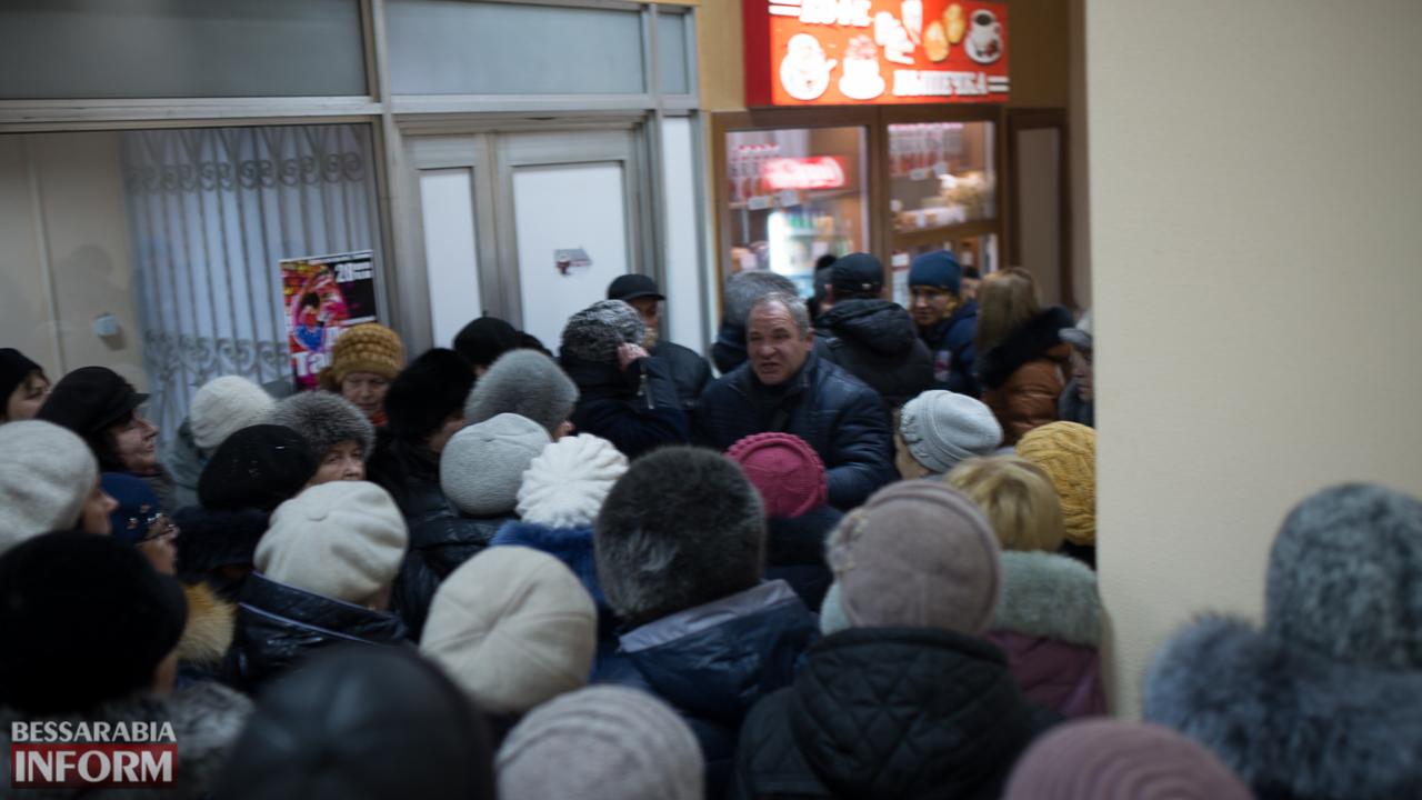 Волнения вокруг Измаильского рынка продолжаются: предприниматели сегодня вновь протестовали у стен мэрии (ФОТО)
