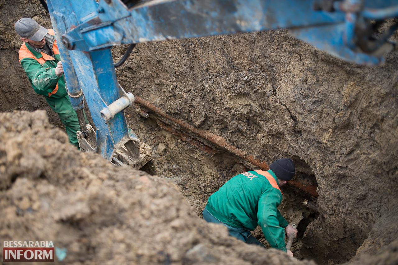 Чрезвычайная ситуация из-за аварии на водопроводе в Измаиле: виновных нет, есть только пострадавшие