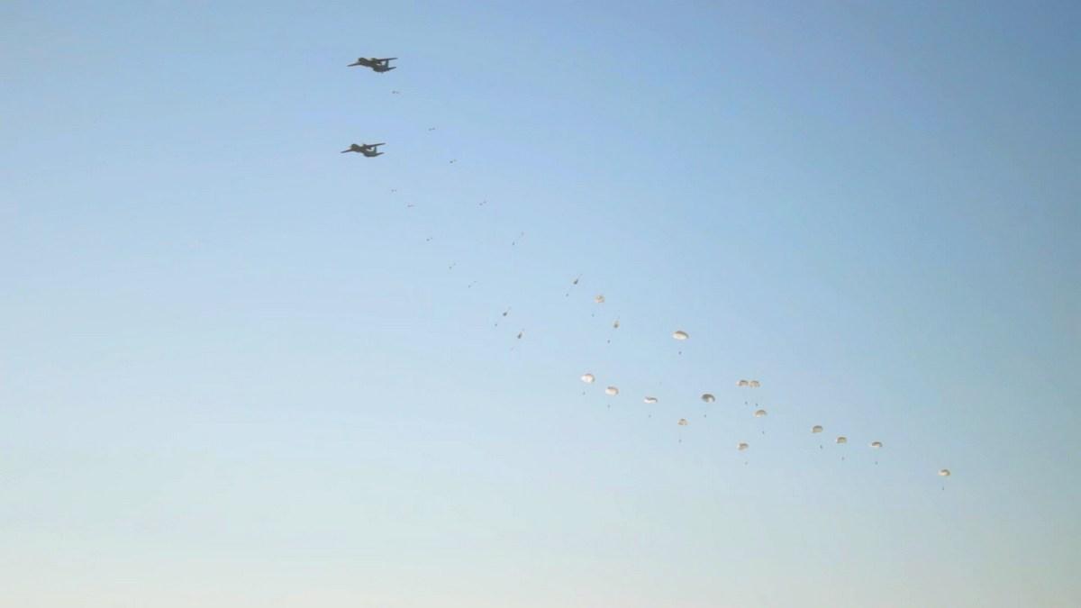 """В Болграде пехотинцы освободили аэродром  от """"захватившего"""" его противника (фото)"""