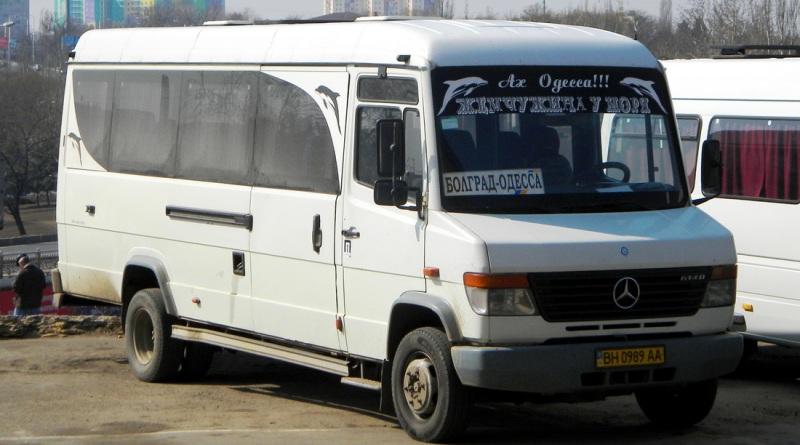 маршрутка Болград-Одесса
