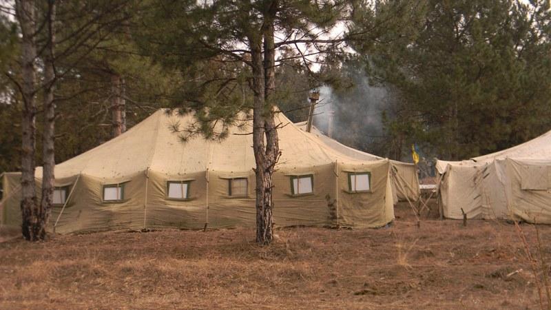 pogranichniki-palatochnyj-gorodok На полигоне возле Рени прошли трёхдневные учения пограничных спецназовцев (фото)