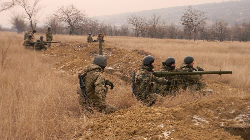 pogranichniki-strelby-1 На полигоне возле Рени прошли трёхдневные учения пограничных спецназовцев (фото)