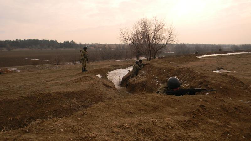 pogranichniki-ucheniya На полигоне возле Рени прошли трёхдневные учения пограничных спецназовцев (фото)