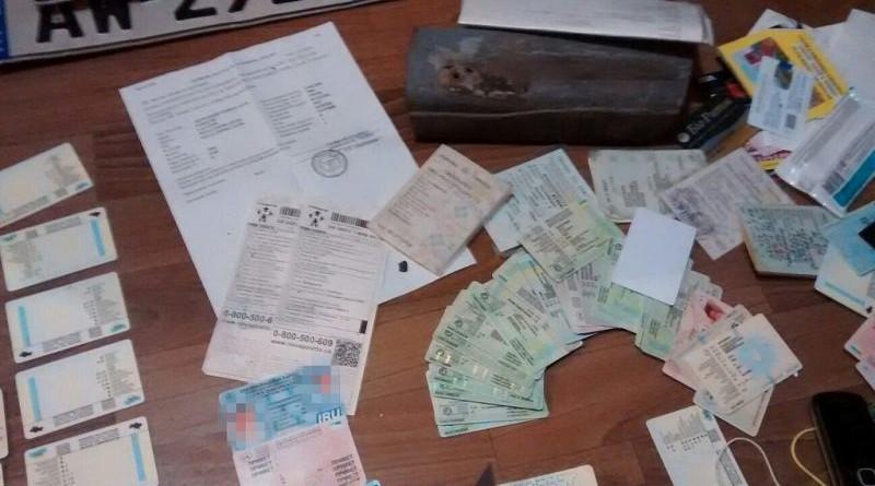 водительские права и техпаспорта